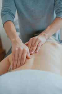 Back massage for Pain